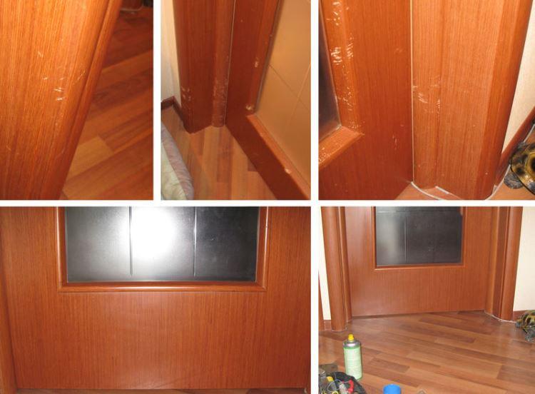 Ремонт двери межкомнатные своими руками фото