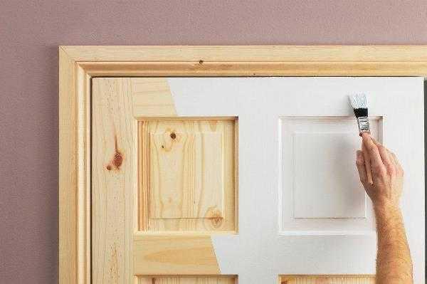 Деревянная межкомнатная дверь своими руками фото