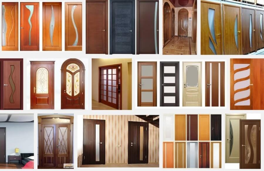 Одностворчатые раздвижные двери в интерьере