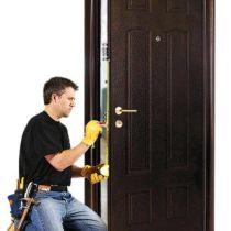 Ремонт входных железных дверей
