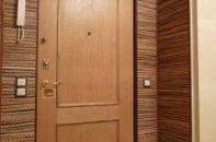 Варианты отделки входной двери после установки