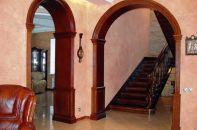 Из чего и как лучше сделать оформление арки в гостиную или на кухне