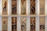 Разновидности, установка и замена стекла для межкомнатных дверей своими руками