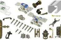 Как выбирается фурнитура для дверей межкомнатных, раздвижных дверей и прочих моделей