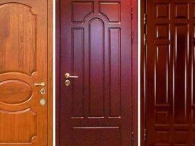 Особенности обивки дверей МДФ-панелями и дермантином
