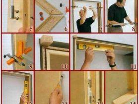 Правила проведения монтажа и установка дверей межкомнатных своими руками