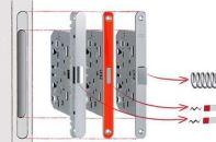 Основные преимущества использования магнитного замка на межкомнатную дверь