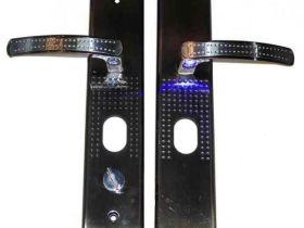 Какие бывают дверные ручки для входных металлических дверей