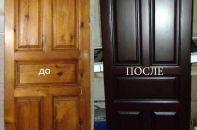 Как выполнить реставрацию дверей, межкомнатных дверей цельнодеревянных и шпонированных собственными руками