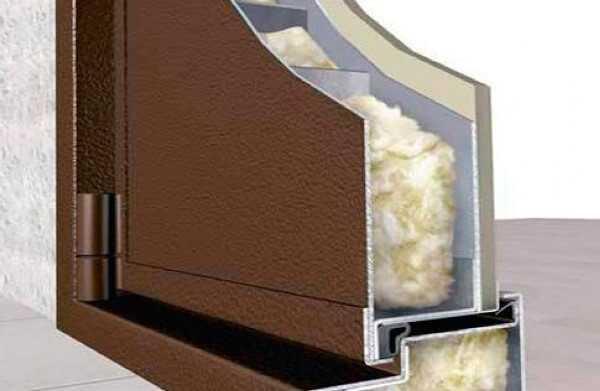 Утепление дверного полотна и коробки