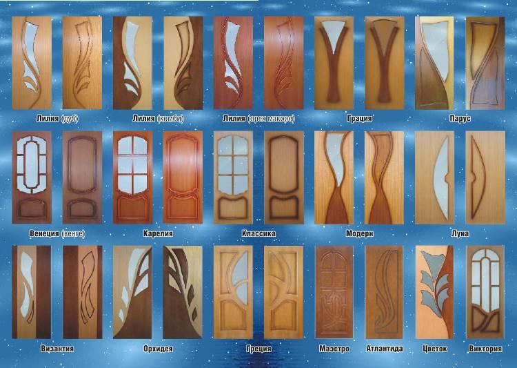 Современный ассортимент межкомнатных дверей