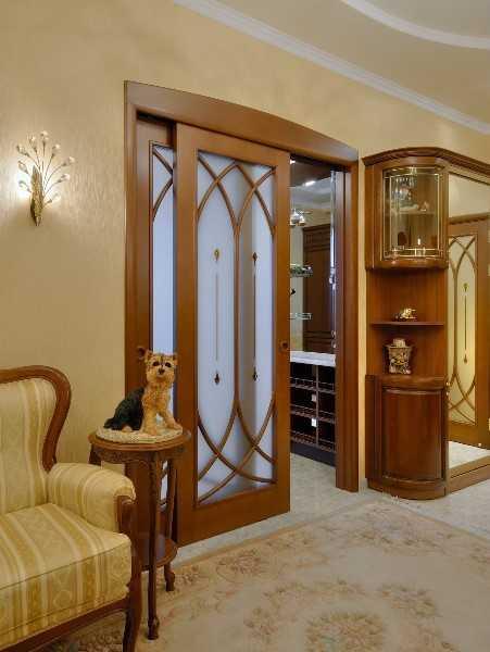 Дизайн межкомнатной двери