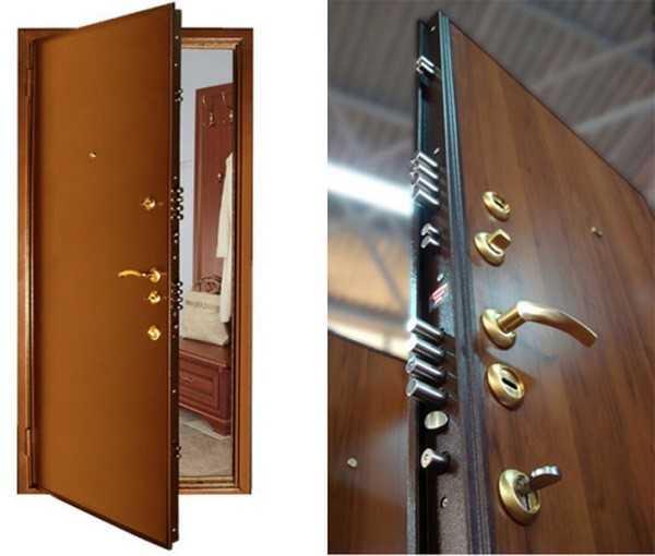 Металлическая дверь с несколькими замками