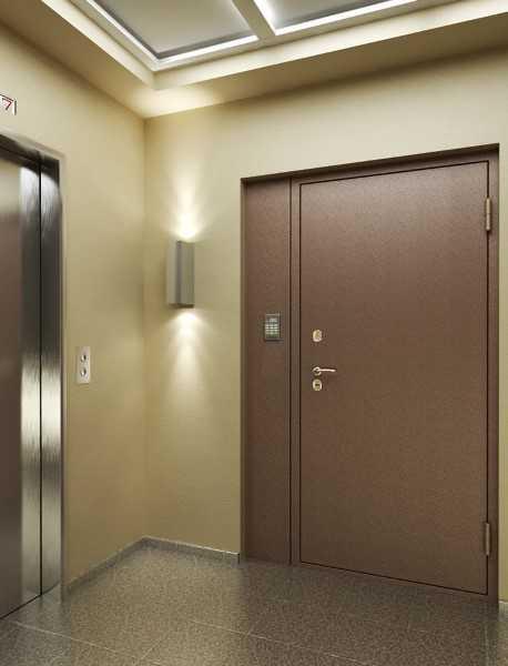 железные двери недорого на несколько квартир тамбур