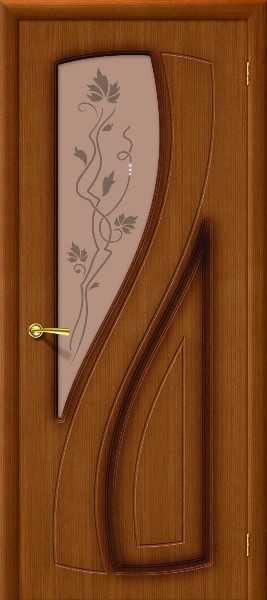 Шпонированная дверь Лагуна