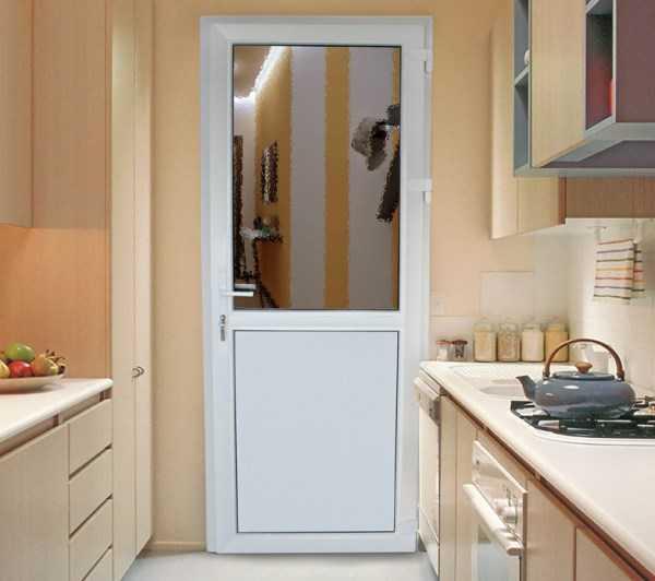 Пластиковая кухонная дверь