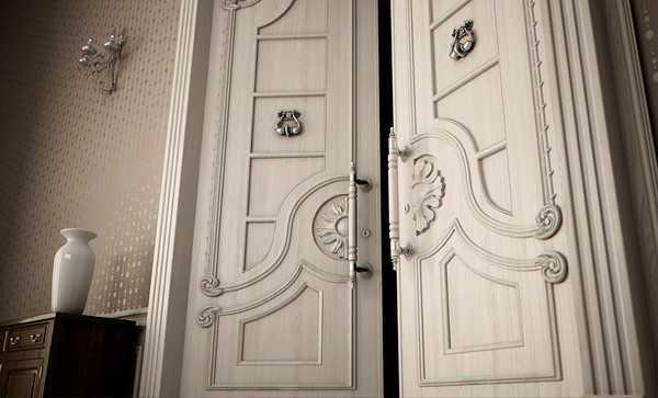 Элитная дверь из массива
