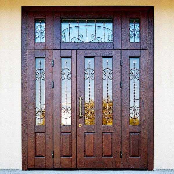 двери металлические входные двухстворчатые на заказ