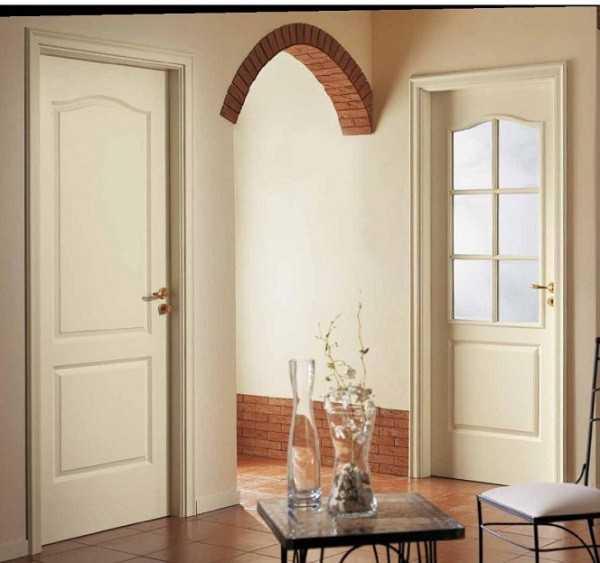 Правильно окрашенные двери