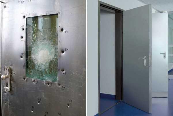Испытания пулепробиваемых дверей