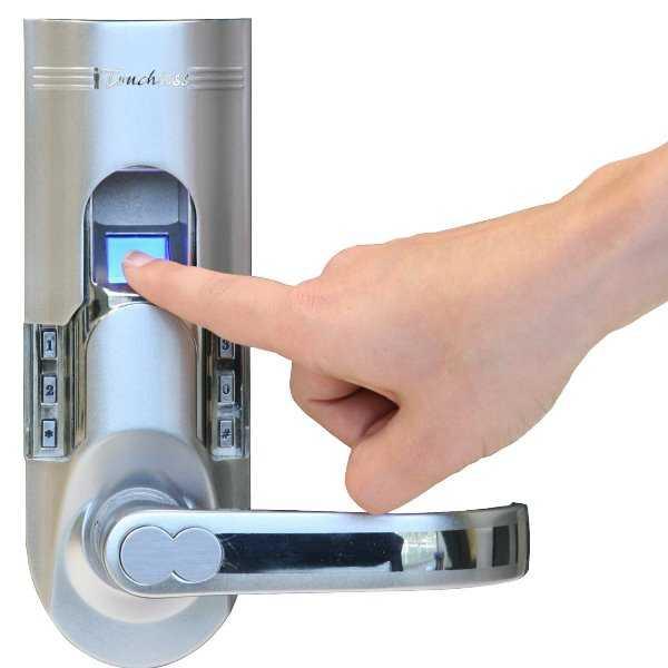 Комбинированное биометрическое запорное устройство
