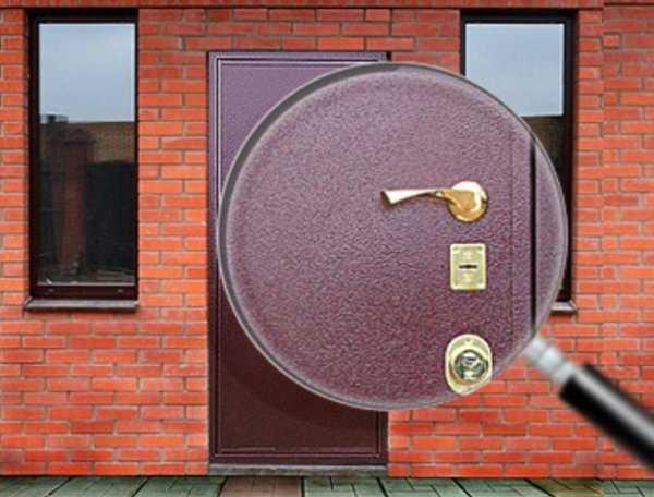 Стальная дверь с порошковым напылением