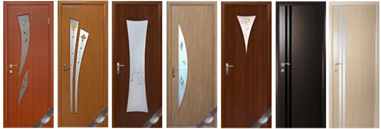 Так выглядят двери из МДФ
