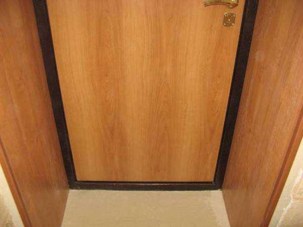 Облагораживание дверного проема входной двери