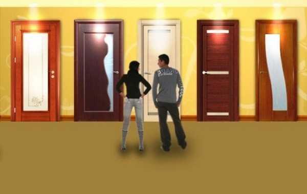 Выбор дверей достаточно широкий