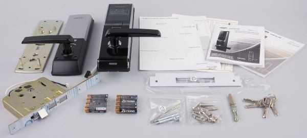 Биометрический врезной замок Samsung SHS-5230