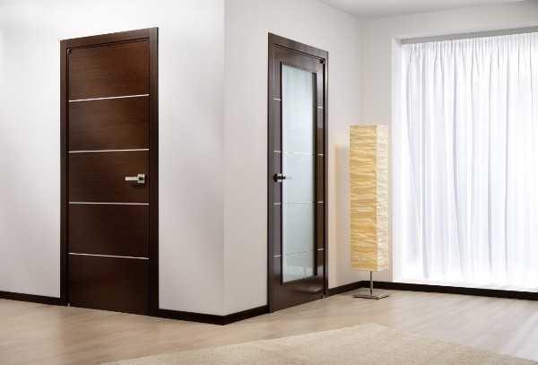 Дверь венге коллекции модерн