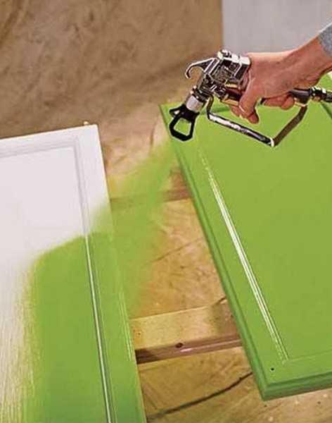 Использование распылителя