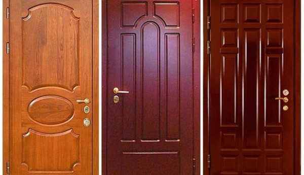 Ремонт двери при помощи покрытия