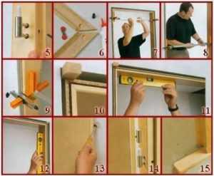 установка дверей межкомнатных своими руками