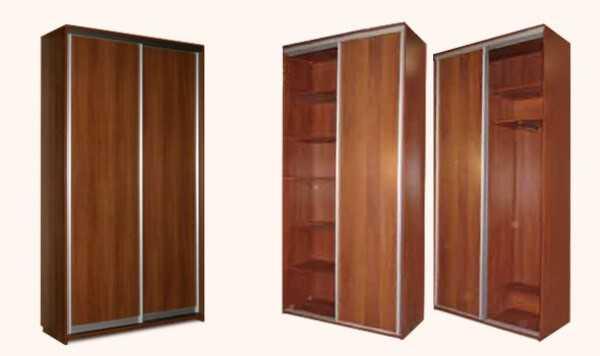 Шкаф купе на две двери – стандарт