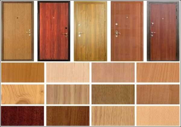 Облицовка дверного полотна – ламинат