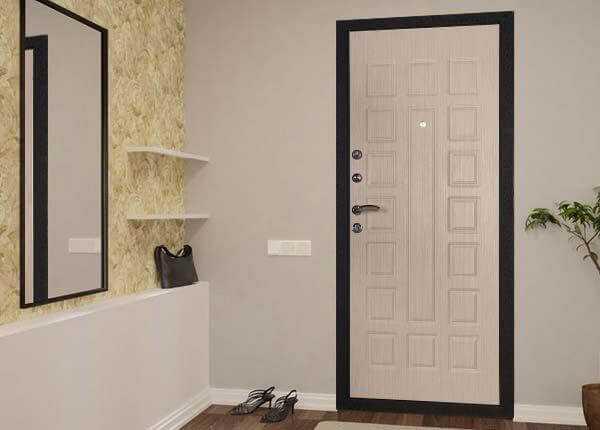 Дверь «белёный дуб»